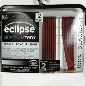 Eclipse Absolute Zero Blackout Liner Panels White